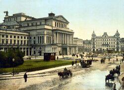 Plac Teatralny 1900