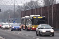 Wał Miedzeszyński (autobus 520)