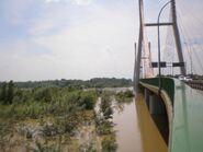 Most Siekierkowska (fala powodziowa)