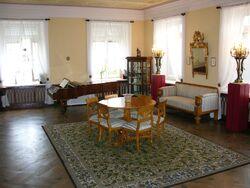 Salonik Chopinów w oficynie Pałacu Czapskich