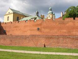 Mury obronne Starej Warszawy od Podwala