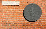 Tablica Abstynencja mury obronne Starego Miasta