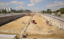 Trasa Powązki-Konotopa (budowa)