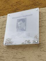Majakowskiego – tablica (by Kubar906)