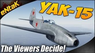 War Thunder Yak-15 Gameplay The Viewers Decide 11