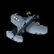 8 - F4U-1c Corsair