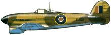 21 typhoon ib RAAF 451 squad