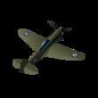 4 - P-40E-1 Kittyhawk