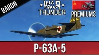 War Thunder - P-63A-5 King Cobra - Russian Premium Plane