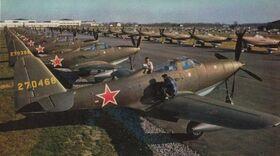 P-63A King Cobra - Soviet