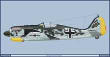 8 Fw190A-5 2-JG 1943
