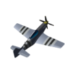 12 - P-51D-5 Mustang