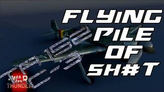 Ta 152 C-3 Flying Pile Of Sh t War Thunder RB Gameplay