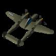 11 - P-38G Lightning