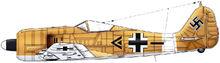 6 Fw190A-4 II-JG2 Tunisia