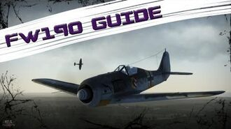 War Thunder Guide FW190 A-5 - Maneuvers & Tactics