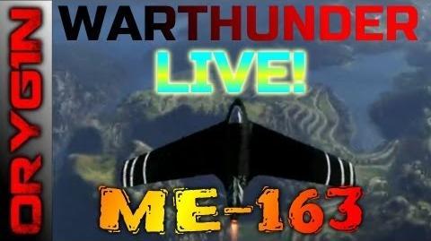 War Thunder - ME163 gameplay