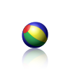 Animated PNG example bouncing beach ball