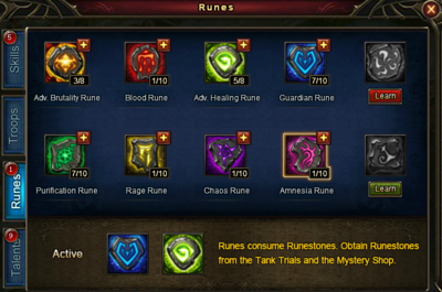 Runes UI