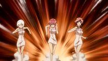 Three Angered Girls