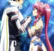 Kensei and Sarasha
