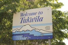 Tukwila welcome sign