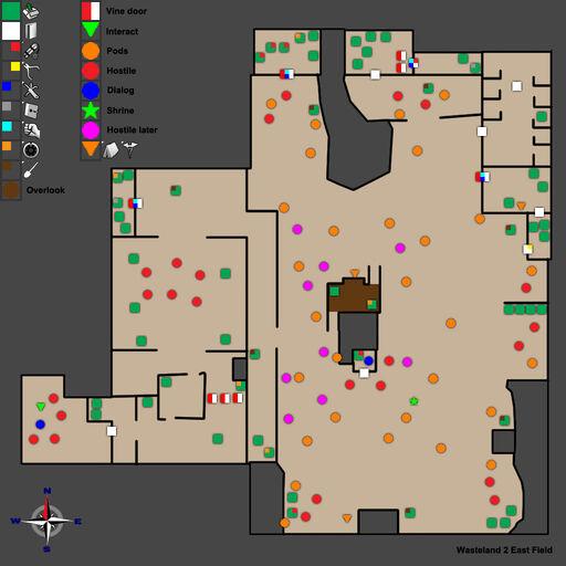 WL2 Ag Center East Field Map Walkthrough