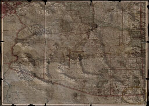 Wasteland 2 Map Arizona
