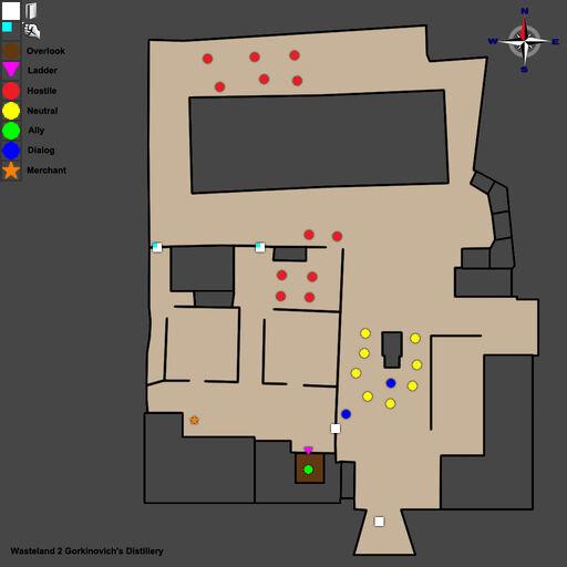 WL2 Gorkinovich's Distillery Map Walkthrough