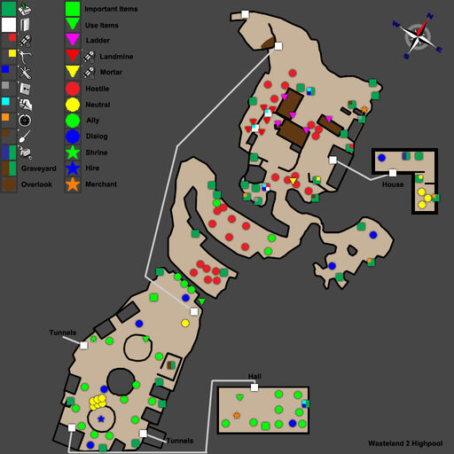 WL2 Highpool Map Walkthrough