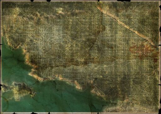 Wasteland 2 Map California