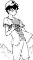 Tomoki in baseball uniform chapter 88.png