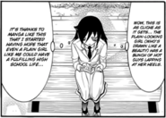 Tomoko on Manga c132