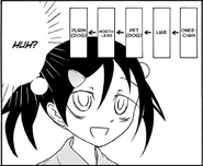 Tomoko becomes Kii Pet