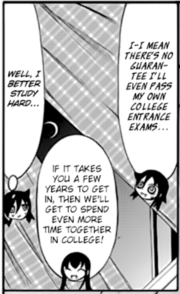 Tomoko Resolves to Study c142