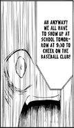 Tomoko Loves Baseball