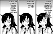 Tomoko Ashamed