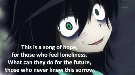 Watamote Opening Full (With Lyrics)