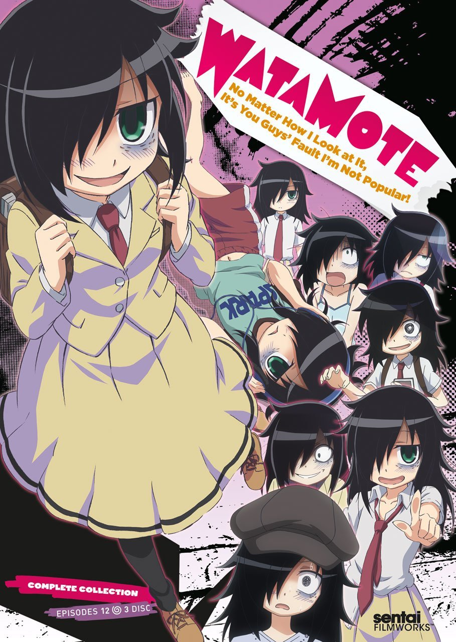 WataMote Cover Front DVD