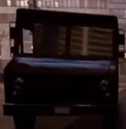 La misma camioneta color