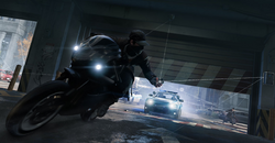 Capturas de pantalla de Watch Dogs (Aiden Motorcycle)