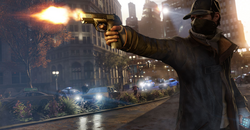 Capturas de pantalla de Watch Dogs (Aiden Shooting)