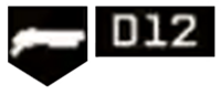 D12 Shotgun (Icon)-WatchDogs