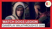 WATCH DOGS LEGION - GAMEPLAY WALKTHROUGH E3 2019