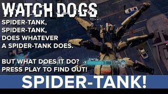 Watch Dogs Spider Tank - Eurogamer Preview