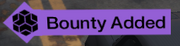 Bounty Added notice small