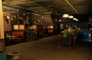 Interior Jed's Bar