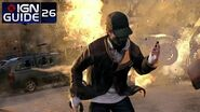 Watch Dogs Walkthrough - Act 3, Mission 1 Hope is a Sad Thing, pt 2-1