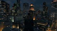 Chicago Skyline Nacht