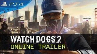Watch Dogs 2 - Online Trailer Ubisoft DE